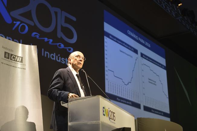 Encontro Nacional da Indústria - ENAI 2015. Palestra de Henrique Meirelles. Brasília (DF) 11.11.2015 - Foto: José Paulo Lacerda