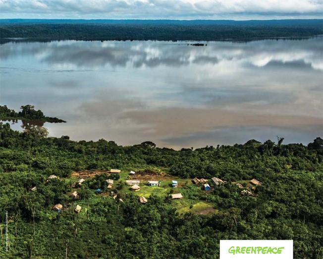 Imagem de abertura da análise independente encomenda pelo Greenpeace sobre as barragens no Rio Tapajós. Foto: Fábio Nascimento/Greenpeace