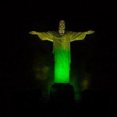 O mundo se veste de verde e amarelo para os Jogos Olímpicos Rio 2016