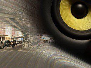 Poluição sonora: Pesquisador do IPT ressalta necessidade de diálogo entre poderes municipal, estadual e federal em evento sobre ruído. Ilustração: aloart