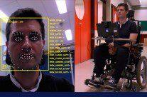 Cadeira de rodas é controlada por expressões faciais, vídeo