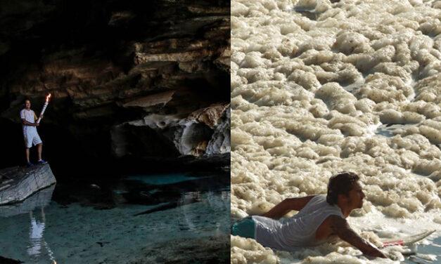 Poluição das águas no Rio de Janeiro preocupa atletas olímpicos