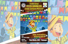 Amais e Sampaio Moreira revivem tradição das festas juninas do bairro pelo Bem