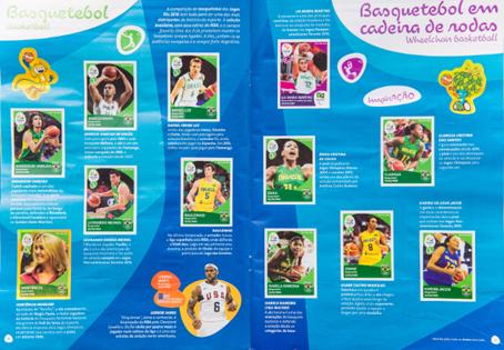 Coleção também destacada os paralímpicos. Foto: Rio 2016