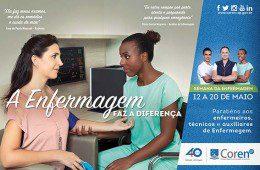 "Coren-SP lança campanha para marcar ""Semana da Enfermagem 2016"""
