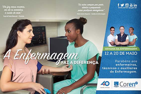 Imagem: divulgação / Coren-SP