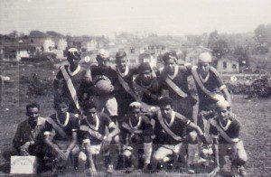 Clube Atlético Paulista em campo existente por volta de 1950, entre o final da Rua Tuiuti e Rua Coelho Lisboa, no bairro do Tatuapé. Foto: © Acervo Alô Tatuapé / doada pelo morador