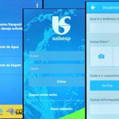 Sabesp lança APP para indicar vazamento de água e esgoto pelo celular