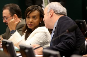 A deputada Tia Eron que pode decidir o futuro de Cunha. Foto: Wilson Dias/Agência Brasil