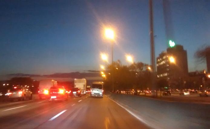 Marginal Tietê. Foto: aloimage