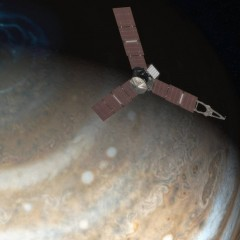 No desconhecido planeta Júpiter: Missão Juno da NASA