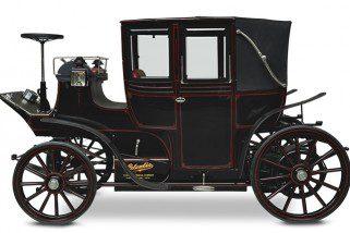 Carros antigos: Columbia – Landaulet Elétrico – 1899
