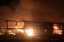 Galpão dos Amigos do Bem é atingido por incêndio, vídeo