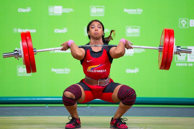 Evento-teste de levantamento de peso na Arena Carioca 1. Foto: Rio 2016/Gabriel Nascimento