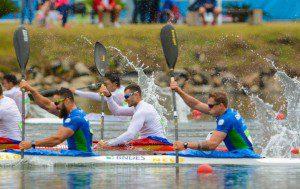 Evento-Teste de canoagem de velocidade, que aconteceu em setembro na Lagoa e já contou com GPS. Foto: Alex Ferro/Rio 2016