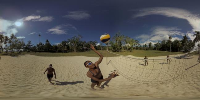 Miller Pata e Linline Matauatu, de Vanuatu, em vídeo 360 graus. Foto: Divulgação