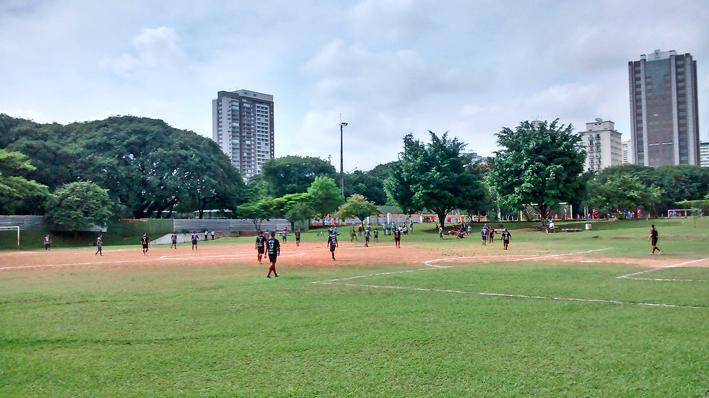 Parque Sampaio Moreira: árvores antigas e boa cobertura. Foto: aloimage