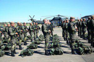 Decolagem de 28 aeronaves ocorreu na manhã desta quinta (7), na Base de Aviação de Taubaté, em São Paulo. Foto: Exército Brasileiro
