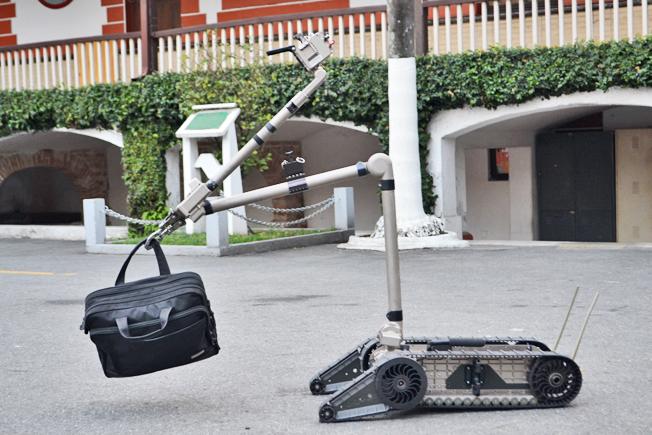Esquadrão Antibomba da Polícia Militar contará com a tecnologia durante os Jogos Olímpicos. Foto: Divulgação