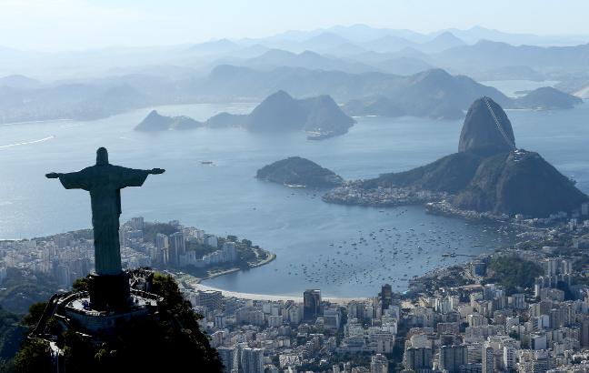 Vista aérea do Rio de Janeiro. Foto: Getty Images/Matthew Stockman