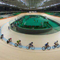 Pista do Velódromo Olímpico do Rio entusiasma ciclistas