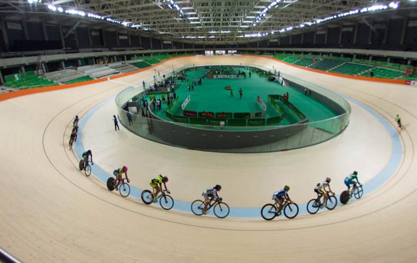 Ciclistas dizem estar ansiosos para as competições em agosto. Foto: Rio 2016/Alex Ferro