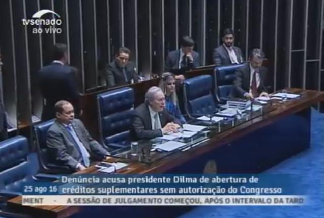 Impeachment: Lewandowski e senadores retomam julgamento de Dilma Roussef, ao vivo