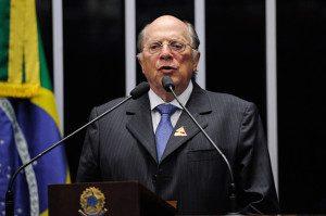 O jurista Miguel Reale Jr. fala o Plenário do Senado. Foto: Edilson Rodrigues / Agência Senado