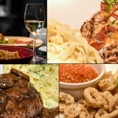 Uma noite encantadora no Restaurante Abraccio do Anália Franco