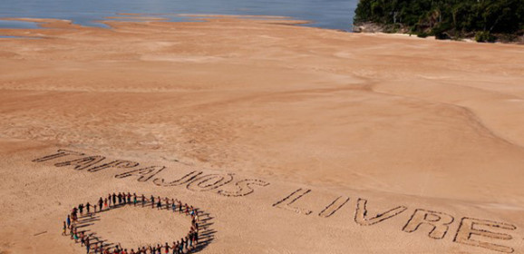 Famosos apoiam povo Munduruku na luta contra hidrelétricas
