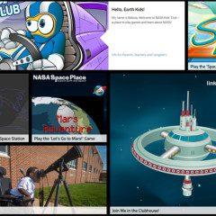 Nasa Kid's Club, o clubinho infantil da agência espacial americana