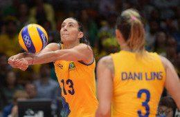 Brasil atropela a Argentina no voleibol feminino