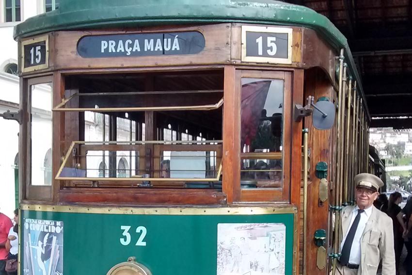 Santos: Linha Turística do Bonde. Foto: aloimage