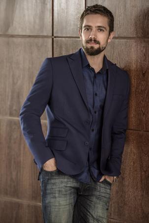 Moda masculina Aramis. Foto: Christian Gaul