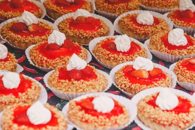 Festival do Morango no Ceret. Foto: divulgação
