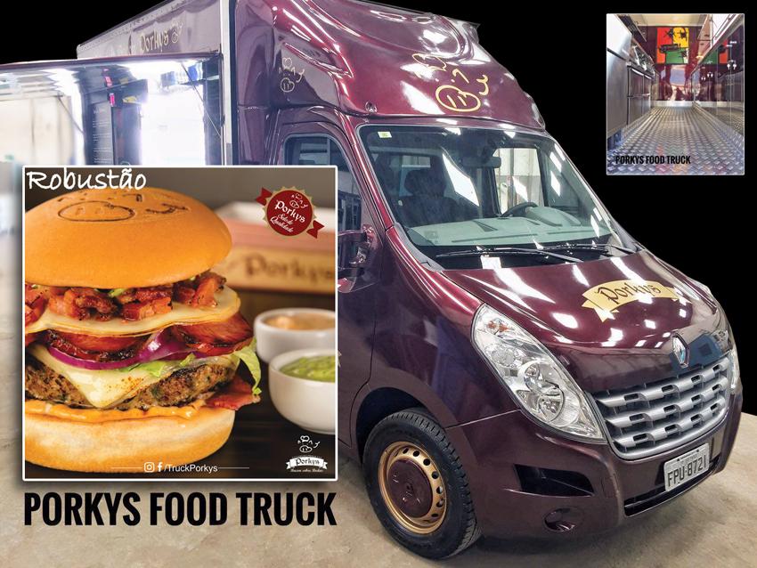 Porkys Food Truck. Foto: divulgação