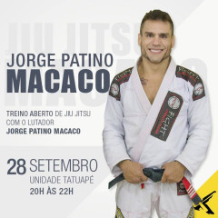 Jiu Jitsu: Líder da Gold Team, Macaco ministra aula especial nesta 4ª feira