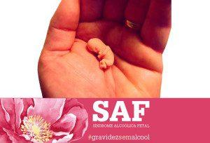 Modelo do tamanho de um feto com 8 semanas, após a concepção, na mão de um adulto. Isto ilustra que o feto tem todos os membros formados nesta fase, e mostra o tamanho em comparação com a de adultos. Foto: Bill Davenport via Wikicommons / Ilustração: reprodução #gravidezsemalcool