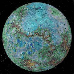 Tectônica: atividade no Planeta Mercúrio pode ser comparada com a Terra