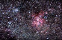 """Astrônomos desvendam o """"coração"""" da Eta Carinae, vídeo"""