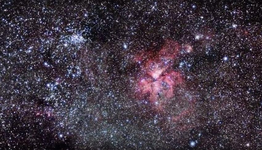 Grupo internacional de pesquisadores, com a participação de brasileiros, obteve imagens com maior resolução conseguida até hoje da estrela gigante e, por meio delas, observou estruturas novas e inesperadas. Imagem: ESO
