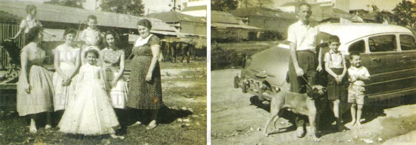 Parte da propriedade dos Bergamaschi  (entre as ruas Cantagalo e Emílio Mallet) localizada ao longo da Rua Serra de Juréa em 1959. Foto: Acervo Alô Tatuapé / doada por Sidney Bergamaschi