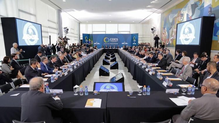 Conselhão: missão de discutir e propor medidas desenvolvimentistas. Foto: Marcos Corrêa/PR