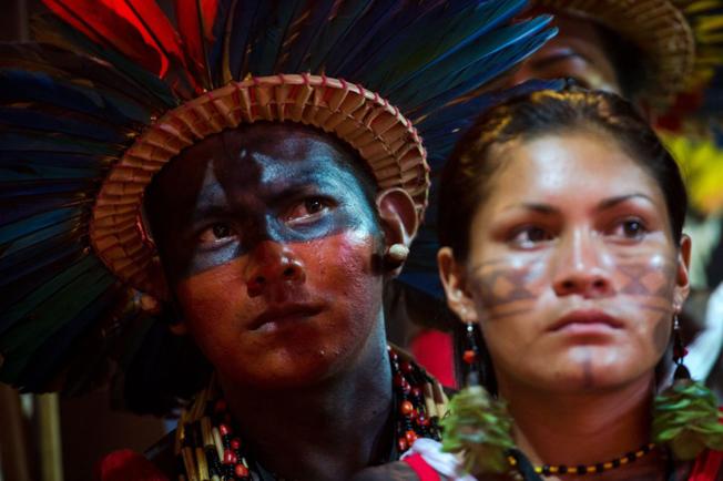 Para jovens lideranças indígenas, cortes na FUNAI devem ser revistos. Imagem dos I Jogos Mundiais dos Povos Indígenas, realizados em Palmas, em 2015. Foto: Agência Brasil / Marcelo Camargo