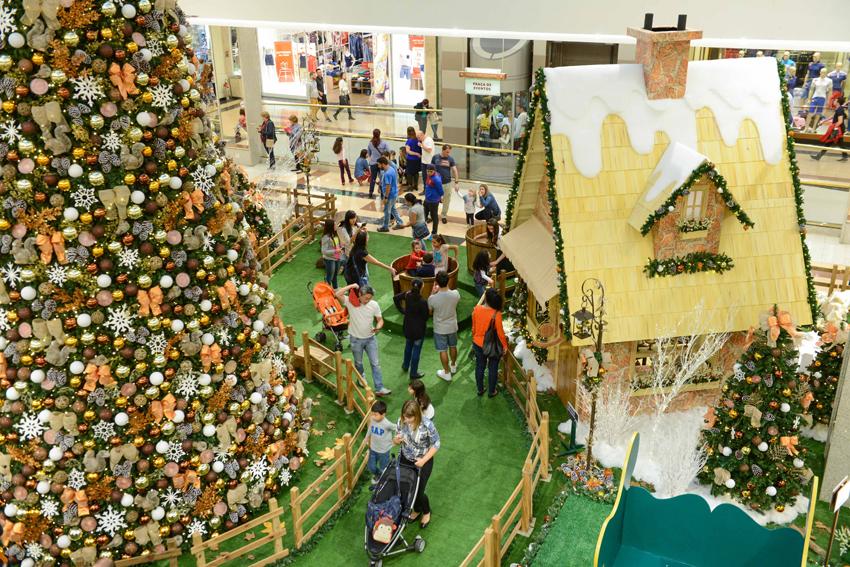 Natal no Shopping Anália Franco. Foto: divulgação / SAF