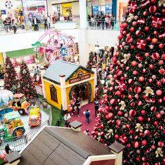 Complexo Tatuapé celebra o Natal com a magia dos parques de diversões