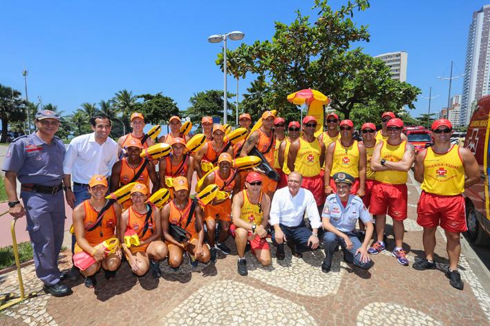 Geraldo Alckmin, durante o lançamento da Operação Verão do ano passado. Foto: Gilberto Marques/A2img