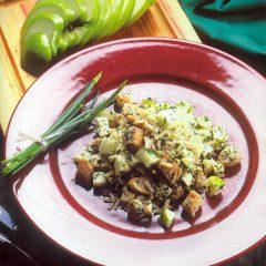 Salada de Queijo com Arroz