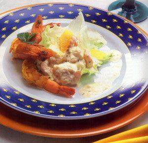 Salada Tropicalíssima. Receita do chef Jorge Nascimento. Foto: Clóvis Dariano. Produção Ana Lima e Vivian Loureiro.