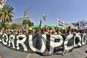 Protesto na capital brasileira em 2011. Foto: Marcello Casal Jr/ABr
